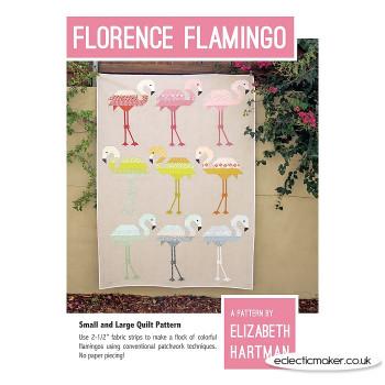 Elizabeth Hartman - Florence Flamingo Pattern