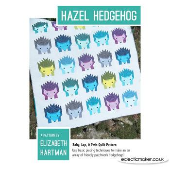 Elizabeth Hartman - Hazel Hedgehog Quilt Pattern