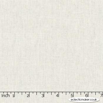 Robert Kaufman - Essex Yarn Dyed Homespun Linen - Silver