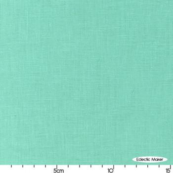 Robert Kaufman - Essex Linen in Medium Aqua