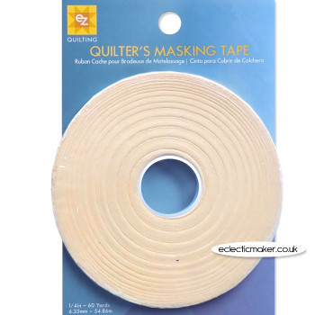 ez Quilting - Quilters Masking Tape - 1/4 inch (6mm)