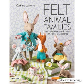 Felt Animal Families by Corinne Lapierre