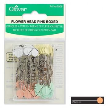 Flower Head Pins Boxed