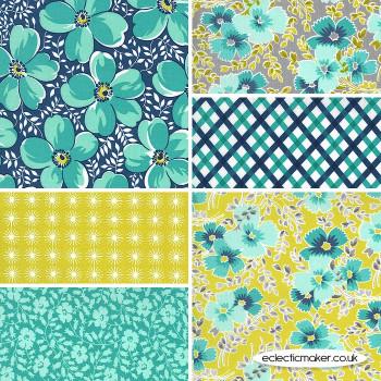 Moda Fabrics - Flowers for Freya - Fabric Bundle in Multi