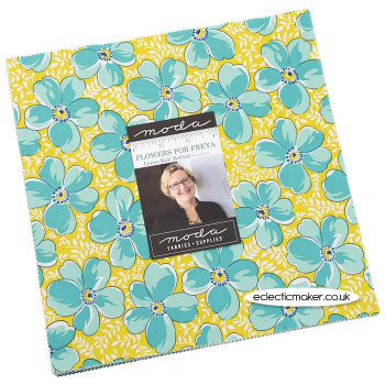 Moda Fabrics - Flowers for Freya - Layer Cake - Linzee McCray