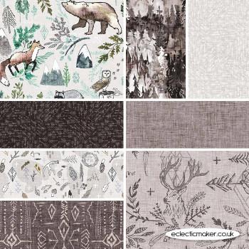 FIGO Fabrics - Forest Fable - Fabric Bundle in Earth