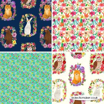 Blend Fabrics - Forest Friends - Fabric Pack in Multi