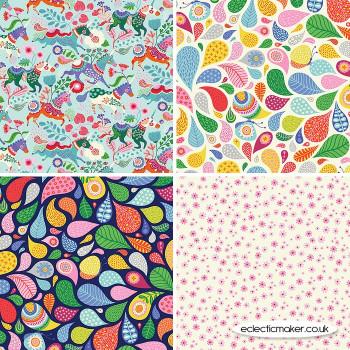 Clothworks Fabrics - Forever Magic - Fabric Bundle in Multi