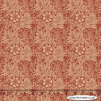 FreeSpirit Fabrics - Kelmscott - Marigold in Red