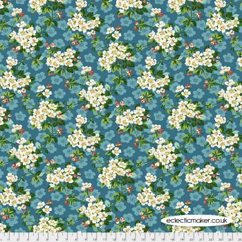 FreeSpirit Fabrics - Neddys Meadow - Spring Blossom in Mint