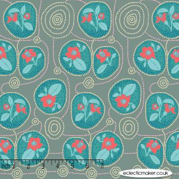 FreeSpirit Fabrics - Sweet Dreams - Native in Gin