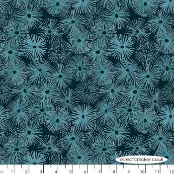 FreeSpirit Fabrics - Time & Tide - Urchin in Depths