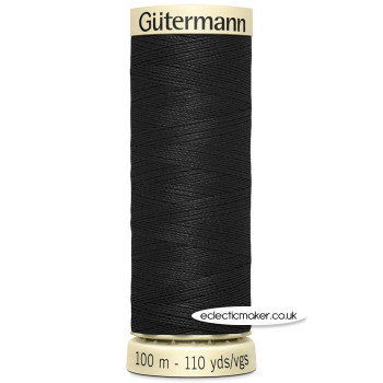 Gutermann Sew-All Thread Black - 000