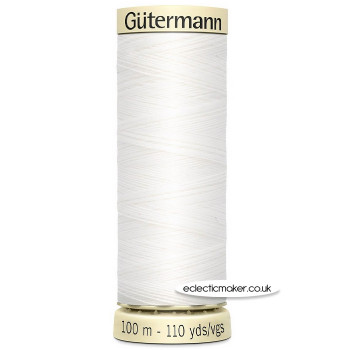 Gutermann Sew-All Thread White - 800