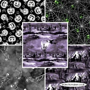 Blank Quilting - Hocus Pocus Glow - Fabric Bundle