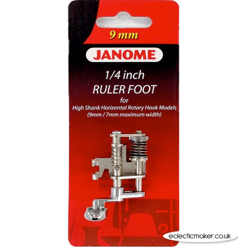 Janome 1/4 Inch Ruler Foot - Category C/D