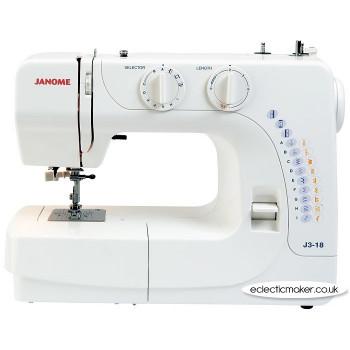 Janome J3-18 Sewing Machine