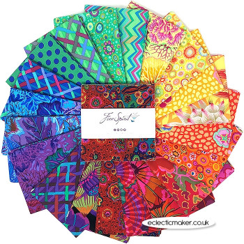 """Kaffe Fassett Collective - Classics - 5"""" Charm in Prism"""