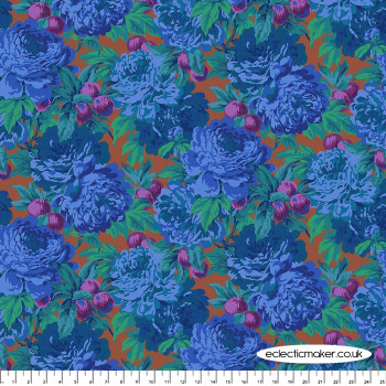 Philip Jacobs Fabric - Luscious in Blue