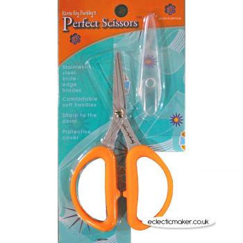 """Karen Kay Buckley Perfect Scissors 5"""" - Multi Purpose Orange"""