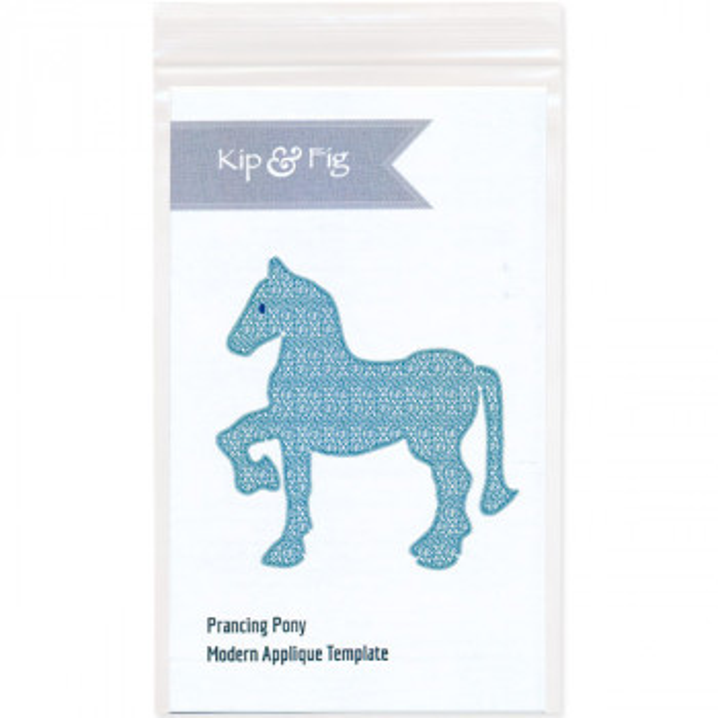 Applique Prancing Pony Pattern
