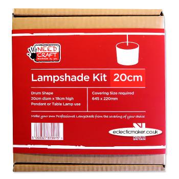 Lampshade Kit - Drum 20cm