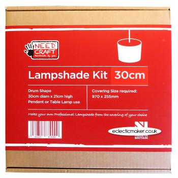 Lampshade Kit - Drum 30cm