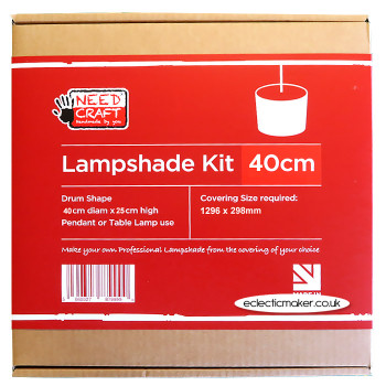 Lampshade Kit - Drum 40cm