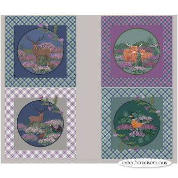 Lewis and Irene Fabrics - Iona - Cushion Panel in Multi