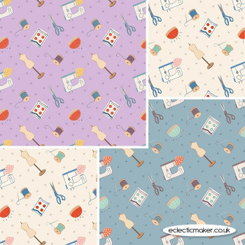 Lewis and Irene - Small Things Crafts - Fabric Bundle in Dressmaking