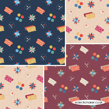 Lewis and Irene - Small Things Crafts - Fabric Bundle in Quilting