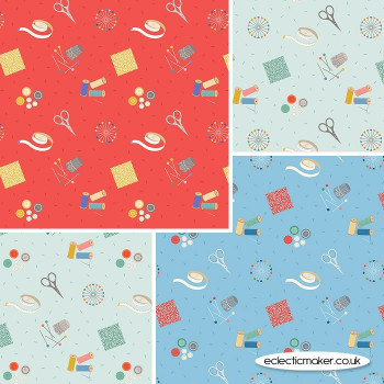 Lewis and Irene - Small Things Crafts - Fabric Bundle in Sewing