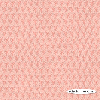 Lewis and Irene Fabrics - Thalassophile - Seahorses on Coral