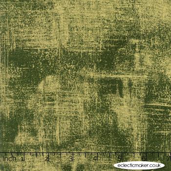 Moda Fabrics - Luxe Brushstroke - in Evergreen Metallic