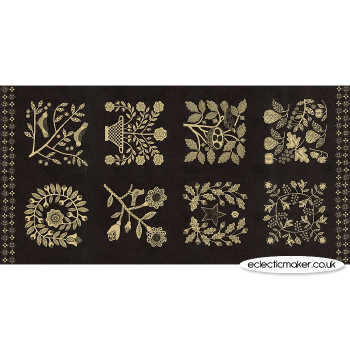 Moda Fabrics - Maryland Fabric Panel in Nightfall