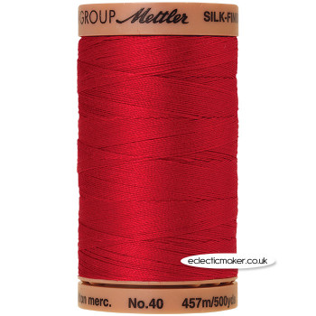 Silk-Finish Cotton 40 Thread - Country Red 0504 (Old600)