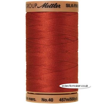 Silk-Finish Cotton 40 Thread - Brick 1074 (Old No 534)