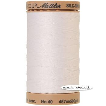 Silk-Finish Cotton 40 Thread - White 2000 (Old No 002)