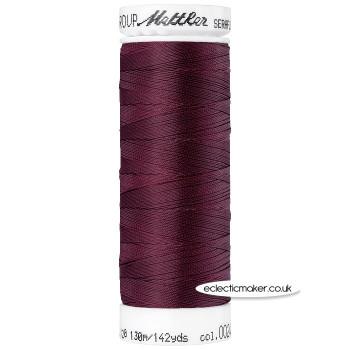 Mettler Seraflex - Elastic Thread - Beet Red 0111