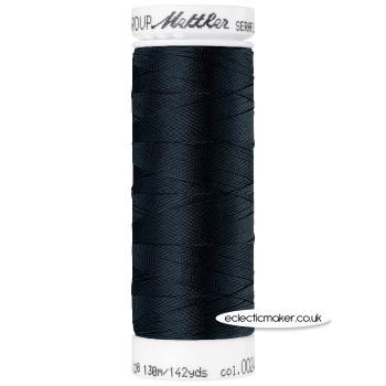 Mettler Seraflex - Elastic Thread - Black 4000
