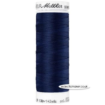Mettler Seraflex - Elastic Thread - Navy 0825
