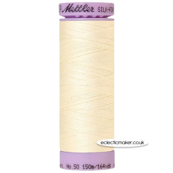 Mettler Cotton Thread - Silk-Finish 50 - Antique White 3612