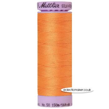 Mettler Cotton Thread - Silk-Finish 50 - Harvest 1401