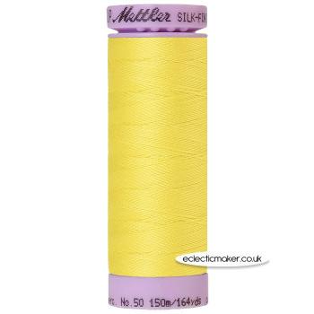 Mettler Cotton Thread - Silk-Finish 50 - Lemon Zest 3507