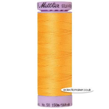 Mettler Cotton Thread - Silk-Finish 50 - Marigold 0161