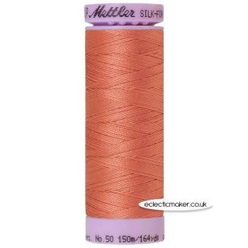 Mettler Cotton Thread - Silk-Finish 50 - Melon 1073