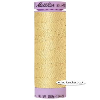 Mettler Cotton Thread - Silk-Finish 50 - New Wheat 0857