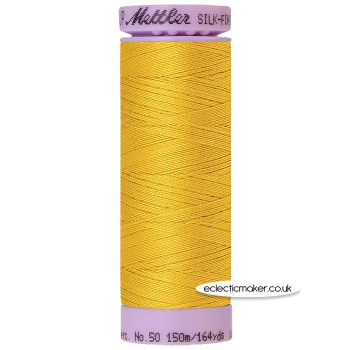 Mettler Cotton Thread - Silk-Finish 50 - Nugget Gold 0117