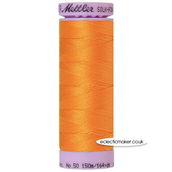 Mettler Cotton Thread - Silk-Finish 50 - Pumpkin 0122