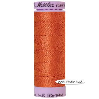 Mettler Cotton Thread - Silk-Finish 50 - Reddish Ocher 1288